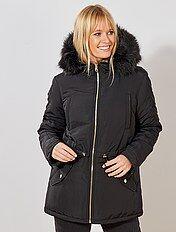 chaussures de sport fbaa2 c344a Veste manteau femme pour rester au chaud Vêtements femme | Kiabi