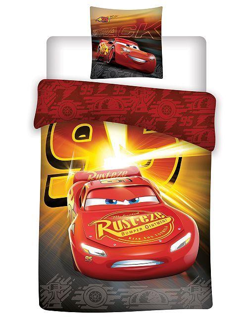 Parure de lit 1 personne 'Cars' de 'Disney'                             rouge Linge de lit
