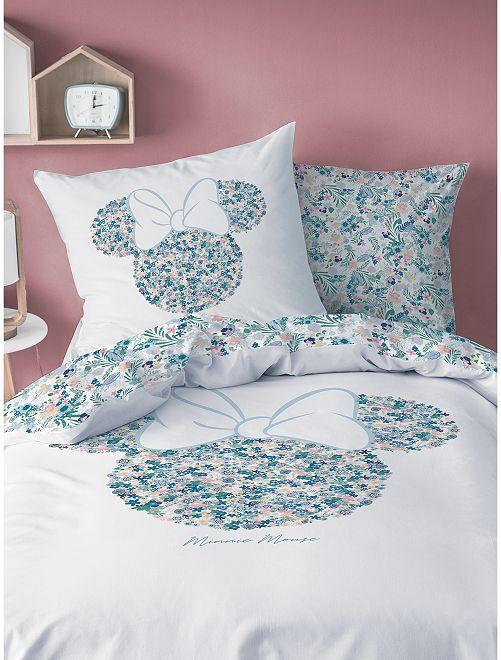 Parure de lit 1 personne 'Minnie' de 'Disney'                             blanc
