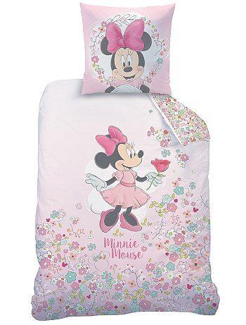 Parure de lit 1 personne `Minnie`
