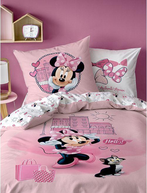 Parure de lit 1 personne 'Minnie'                             rose