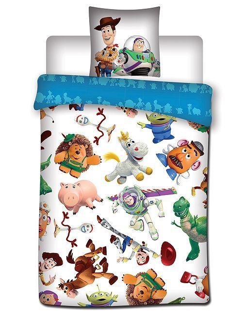 Parure de lit 1 personne 'Toy Story'                             blanc