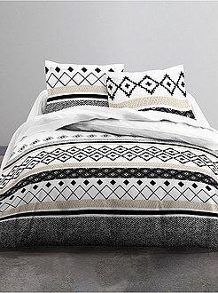 solde linge de maison linge de lit pas cher with solde linge de maison trendy linge de lit en. Black Bedroom Furniture Sets. Home Design Ideas