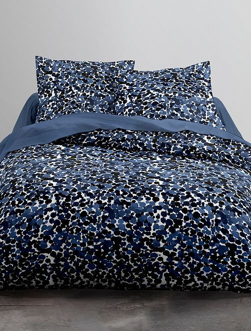 Parure de lit 2 personnes                             bleu