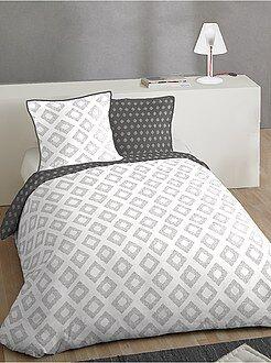 linge de maison linge de lit parure kiabi. Black Bedroom Furniture Sets. Home Design Ideas
