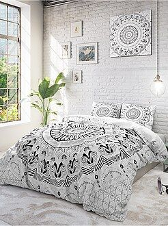 linge de maison linge de lit parure kiabi. Black Bedroom Furniture Sets. Home Design Ideas