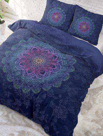 Parure de lit 2 personnes imprimé 'mandalas'