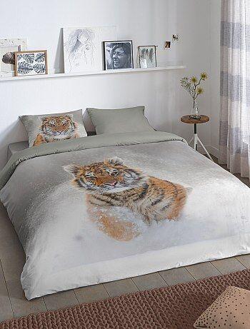 Parure de lit 2 personnes imprimé