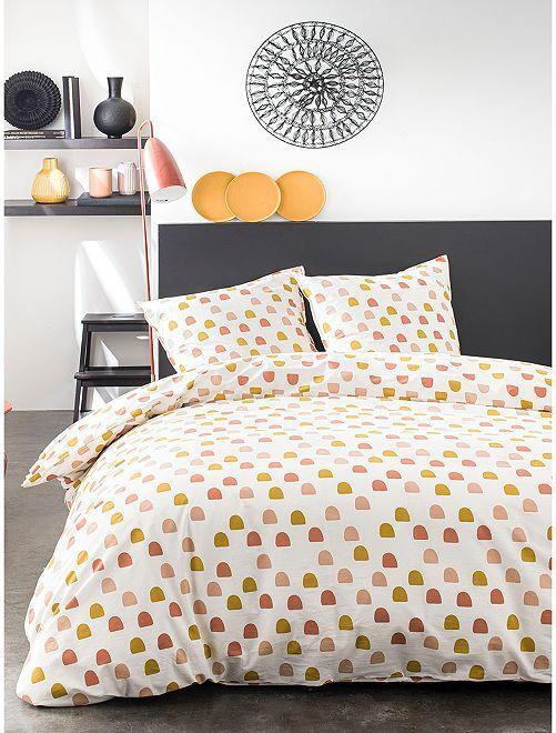 Parure de lit 2 personnes                             jaune
