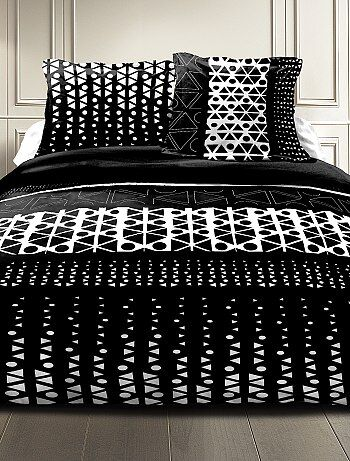 soldes linge de lit de qualit pas cher linge de maison kiabi. Black Bedroom Furniture Sets. Home Design Ideas