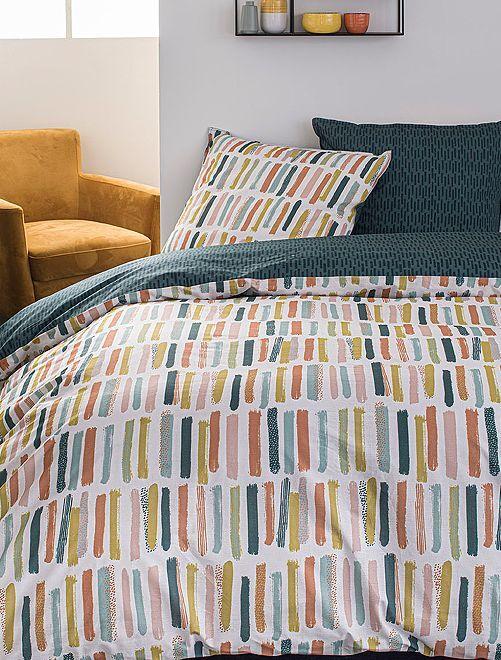 Parure de lit 2 personnes                             multicolore