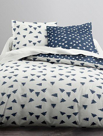 Parure de lit 2 personnes 'triangles'