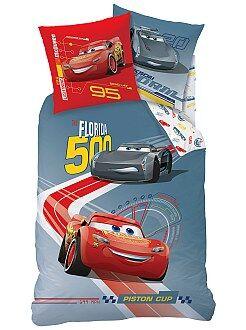 Linge de lit enfant - Parure de lit 'Cars' - Kiabi