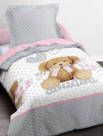 Parure de lit `Doudou`