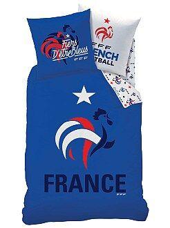 Linge de lit enfant - Parure de lit 'Equipe de France de foot'