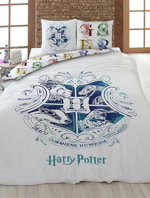 Parure de lit 'Harry Potter'                             blanc