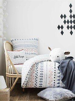 Linge de lit enfant - Parure de lit impression 'Forêt' - Kiabi
