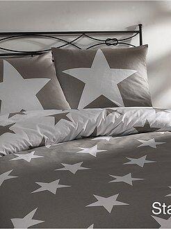 Maison Parure de lit imprimé étoiles