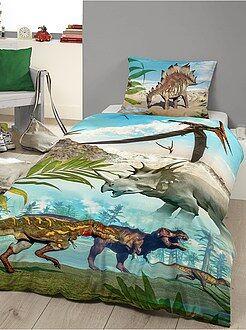 Maison Parure de lit imprimée 'Dinosaures'