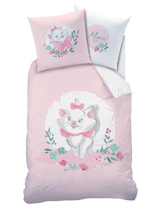 Parure de lit 'Marie' 1 personne                             rose