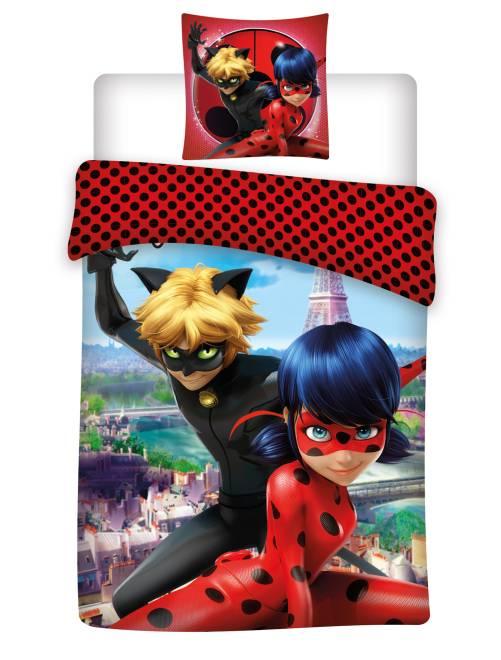 Parure de lit 'Miraculous Ladybug'                             bleu/rouge Linge de lit