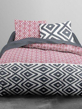Parure de lit motifs géométriques