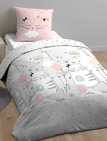 Parure de lit 'My Little Miaou' - Kiabi