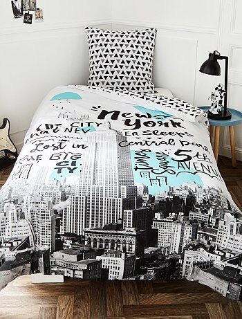 Parure de lit `New York`