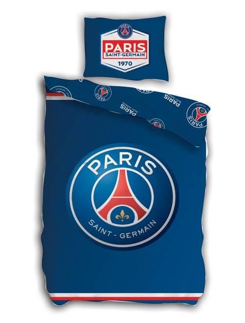 Parure de lit 'Paris Saint-Germain'                             bleu