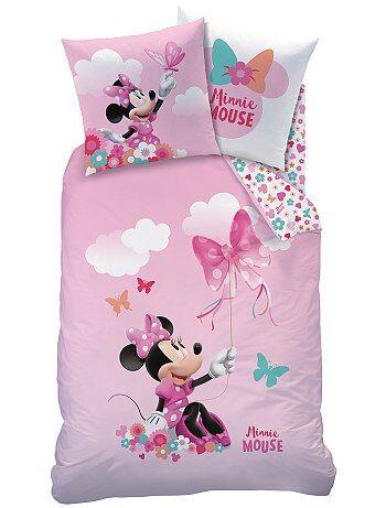 Parure de lit réversible `Minnie`