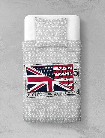 Parure de lit `Royaume Unis`