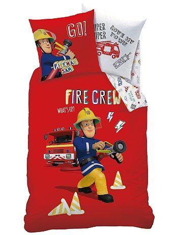 Parure de lit 'Sam le Pompier' - Kiabi