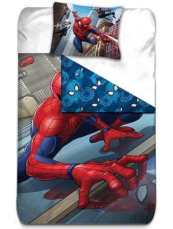 Parure de lit `Spider man`