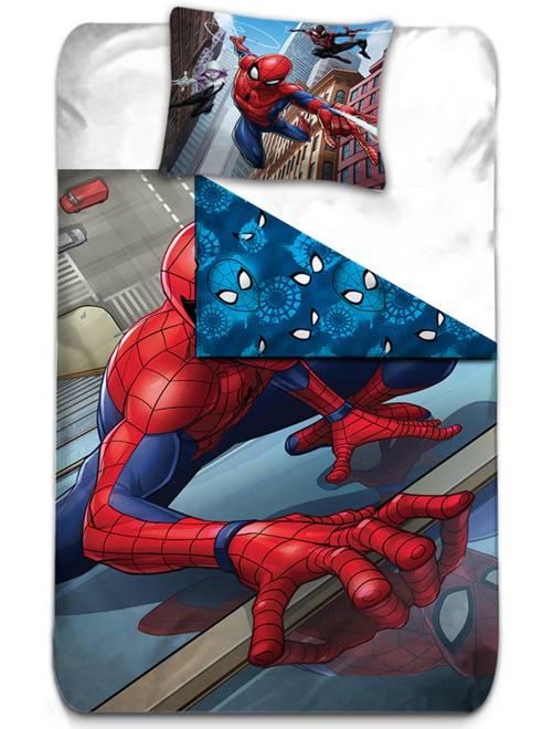 Parure de lit 'Spider-man'                             rouge/bleu Linge de lit