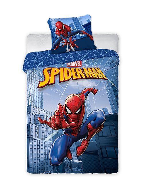 Parure de lit 'Spiderman'                             bleu