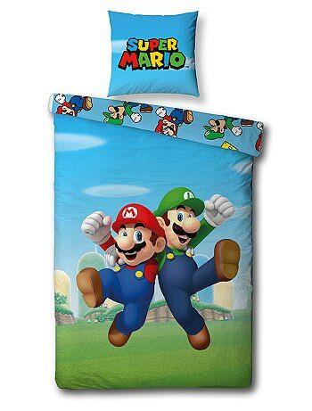 Parure de lit 'Super Mario' - Kiabi