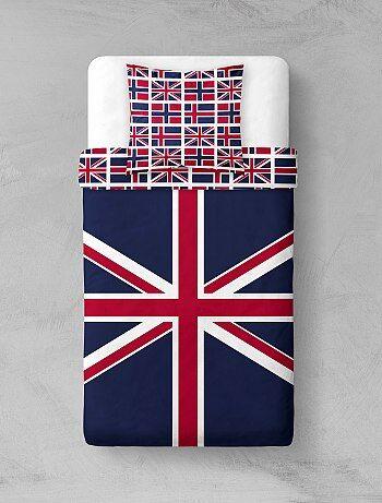 Parure de lit `Union Jack`