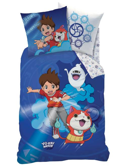 Parure de lit 'Yo Kai Watch'                             bleu Linge de lit