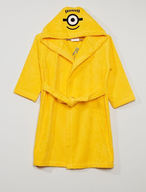Peignoir de bain 'Les Minions'                             jaune