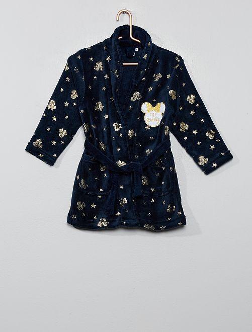 Peignoir 'Minnie'                                         bleu marine