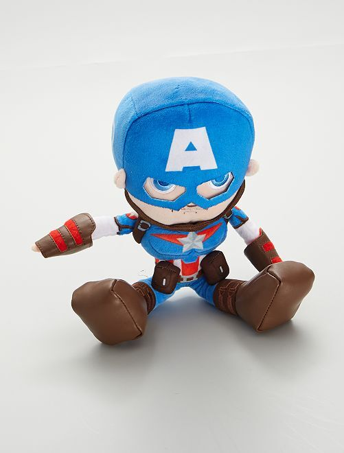 Peluche 'Captain America'                                                     bleu
