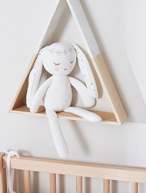 Peluche  lapin  esprit poupée de chiffon Bébé fille - lapin - Kiabi - 8,00€ f648a5c2411