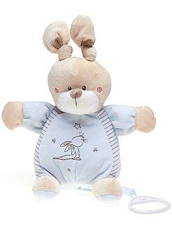 Peluche lapin musicale
