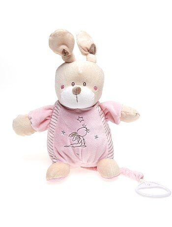 peluche bebe rose