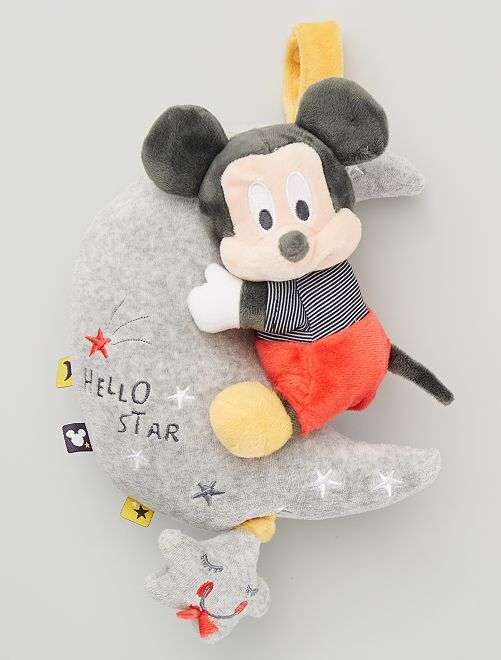 Peluche musicale 'Mickey'                             gris