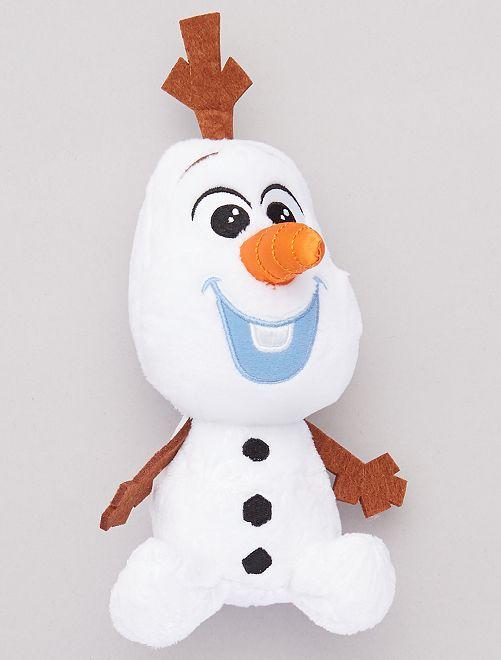 Peluche 'Olaf' de la 'Reine des Neiges'                                         blanc