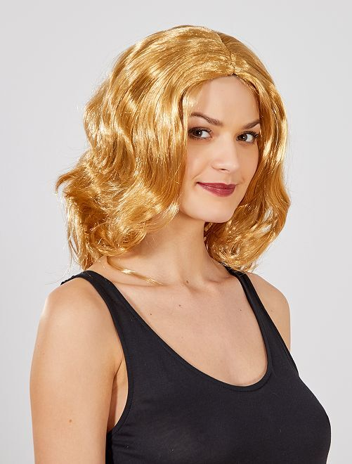 Perruque                                          blond