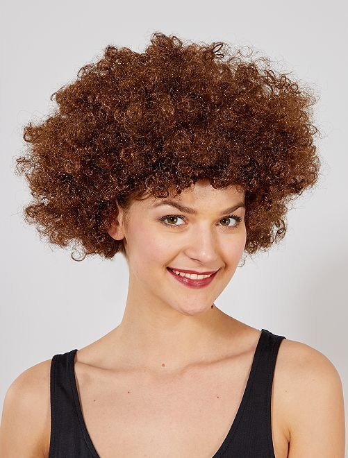 Perruque afro                                                                                         marron