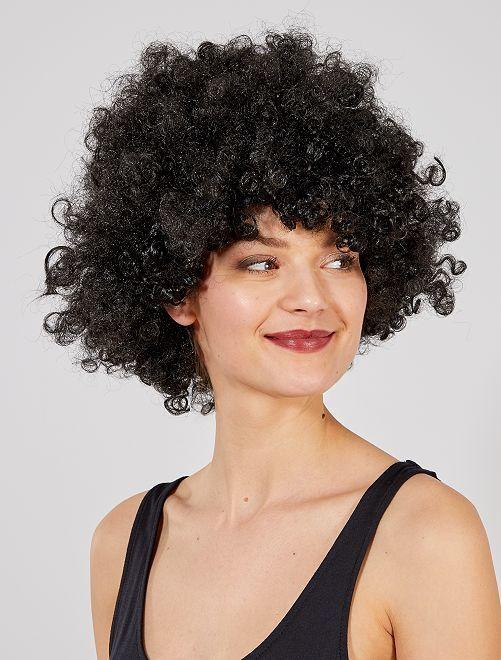 Perruque afro                                                                                         noir Accessoires