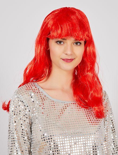 Perruque avec frange Accessoires - rouge - Kiabi - 8 857d5d048d7a